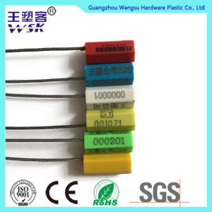 Container Security Steel Strip with Logo and Bar Code