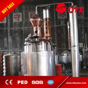3000L Stainless Steel Pot Still Distillation Equipment for Making Whisky pictures & photos