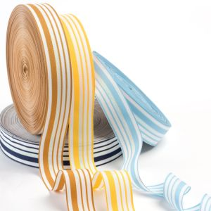 The Five-Colors Wire Polyester Ribbon pictures & photos