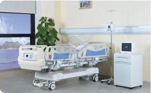 Weighing Type Five Function Hospital Medical Bed (AG-BY009) pictures & photos
