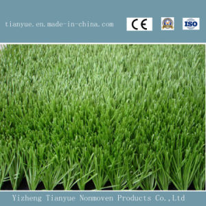 Natural Green Soccer Artificial Lawn pictures & photos