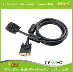 High Quality 15pin VGA Cable Support 1080P pictures & photos