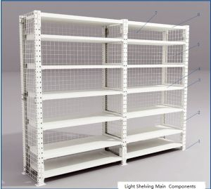 Boltless Shelving for Light Storage pictures & photos
