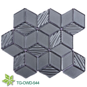 Diamond Crystal Glass Mosaic Tile (TG-OWD-544) pictures & photos
