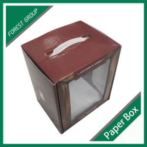 Wholesale Waterproof Glossy Lamination Flower Box with PVC Window pictures & photos