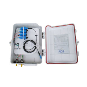 Wall Mounted Fiber Optic Terminal Box with ABS PC Material pictures & photos
