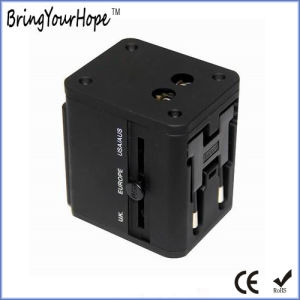 Universal AC Power Adapter with Dual USB Charger (XH-UC-026) pictures & photos