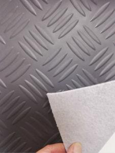 PVC Plastic Coil Flooring Carpet Roll pictures & photos