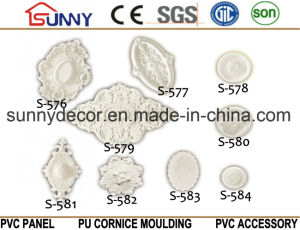 PU Ceiling Medallion /Carving Lamp Holder/ Home&Interior Decoration From China pictures & photos