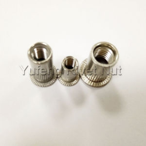 Stainless Steel Flat Head Knurled Body Rivet Nut pictures & photos