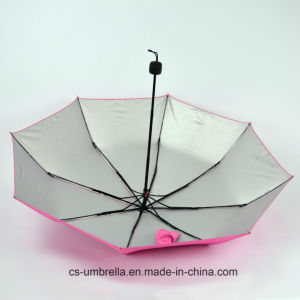 Arise Pattern When Meet Rain Special Printing 3-Folding Umbrella (YS3F0006) pictures & photos