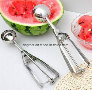 Factory Price Best Selling Stainless Steel Ice Cream Scoop pictures & photos