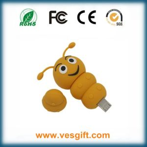 PVC OTG Model Caterpillar Shape USB Flash Driver pictures & photos