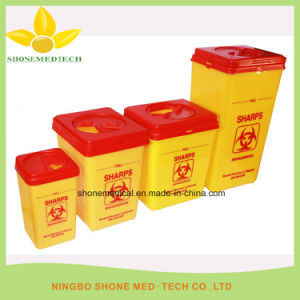 Disposable Hospital Plastic Medical Square Sharp pictures & photos