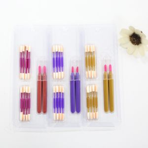 Washami 10PCS Lip Gloss Eyeshadow Brashes New Makeup Brush Set Free Sample pictures & photos