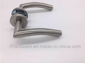 Stainless Steel Tube Level Door Handle (RL005) pictures & photos