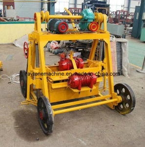 Building Material Machinery Mobile Manual Concrete Block Making Machine Price Qt40-3b pictures & photos