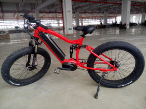 2017 New Design Full Suspension Electric Bike with Fat Tyre pictures & photos
