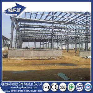 China Manufacturer Portal Frame Steel Prefabricated Warehouse for Storage Shed pictures & photos