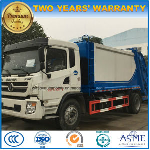 Shacman 10t Rubbish Compress & Transport 10 Tons Compressed Garbage Truck pictures & photos