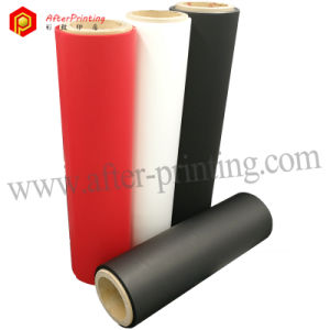 Colorful Soft Touch Film/Velvet Sense Transparent Soft Touch Thermal Laminating Film pictures & photos