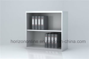 Open Shelf Book Cabinet with Japanese Galvanized Steel and Epoxy Powder Coating Finish pictures & photos