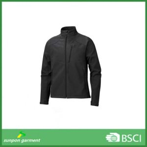 Men′s Fleece Lined Mountaineering Softshell Jacket pictures & photos