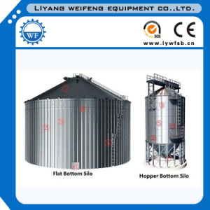 275g Galvanized Fabricated Steel Plate Silo pictures & photos