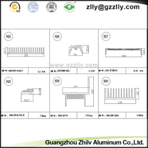 Building Material Aluminum Heat Sink for Air Compressors pictures & photos