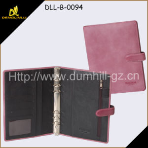 PU Leather A5 Document Holder Factory Manager Notebook pictures & photos
