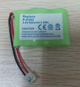 Cordless Phone Battery for Panasonic Hhr-P303 Hhrp303 P-P303 PP303