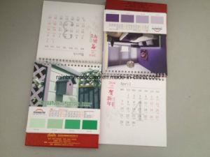 Advertisement Gift with Paint Color Chart Desk Calendar pictures & photos