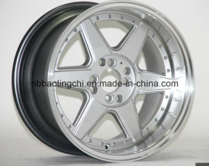 16 Inch Car Aluminum Wheels with PCD 4/5/8/10X100-114.3 for India pictures & photos