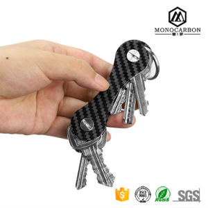 New Design Fashion Outdoor Big Carbon Fiber Key Chain Best Price Key Holder pictures & photos