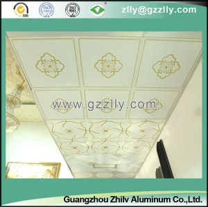 Decorative Roller Coating Printing Ceiling Panel-Building Material -Champs Elysees pictures & photos