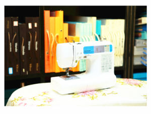 Wonyo Home Domestic Embroidery and Sewing Machine for Home Use pictures & photos
