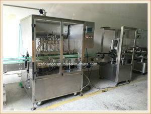 High Quality Liquid Paste Filling Machine with Gear Pump Filling pictures & photos