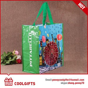2016 New Laminated Non Woven PP Tote Bag, Woven Bag pictures & photos