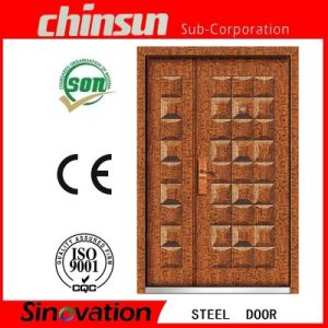 New Designs Double Door Main Door Designs Double Door (SV-S102) pictures & photos