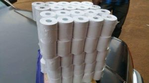 Wood Pulp Thermal Paper in Roll or ATM Used pictures & photos