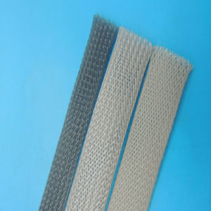 Fire Resistance UL 150c Polyester Braided Sleeving / Pet Expandable Sleeving pictures & photos