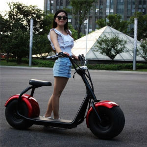 City Coco Electric Mobility Scooter Fat Tire Electric Motorcycle pictures & photos