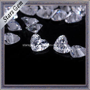 Beautiful Heart Cut 4X5mm Zirconia Beads for Jewelry pictures & photos