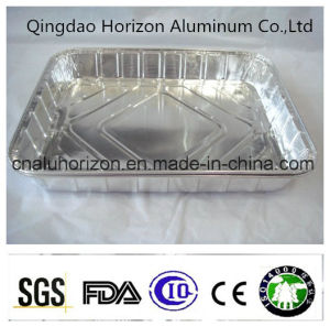 Oil Free Aluminum Foil Tray for Roasting Chicken pictures & photos