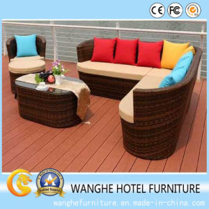 Luxurious Dining Room Rattan Outdoor Furniture Set pictures & photos