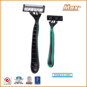 Triple Blade Disposable Razor with Best Price pictures & photos