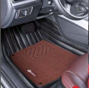 Leatherette Car Mat 3D in 5-Layer with High Elastic/PP Fiber Pad pictures & photos