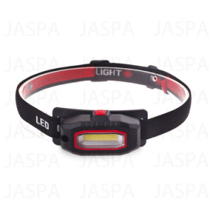 Dry Battery Powered 3W COB LED Headlamp Made in China (21-2Y1715) pictures & photos
