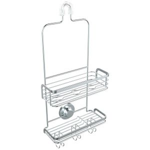Two Tiers Over The Shower Head Caddy