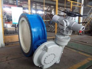 Wcb Electric Actuated Bi-Directional Metal Sealing Valve Dq342h for Pump Outlet of Water Supply Pipeline pictures & photos